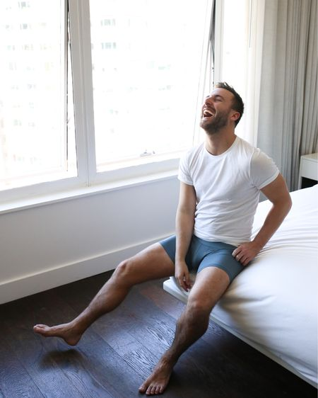 Just call me captain underpants I guess. And yes, someone did say something funny during this shot 😂 Cackling in my new @jockey Signature Men's Pima Cotton briefs and tee  #ad #jockey #sinkinthecity http://liketk.it/2xEb8 #liketkit @liketoknow.it