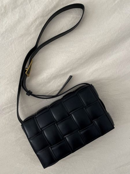 Loving this bag for Fall! Perfectly fits all of my essentials. 🖤 #bag #crossbodybag #blackbag #fallfashion #accessories #purse #amazonfashion   #LTKunder50 #LTKitbag