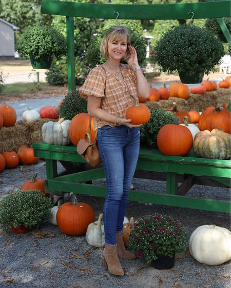 40% off this perfect plaid top! Fall style, fall fashion   #LTKunder50 #LTKSeasonal #LTKstyletip