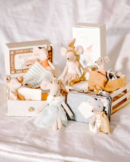 These Maileg mice and Bunnies are the cutest! Grab them when you can so they don't sell out! I started my collection and can't wait for it to continue growing! #mailegmice #toysforkids #kidstoys http://liketk.it/3a0et #liketkit @liketoknow.it #LTKunder50 #LTKkids #LTKbaby