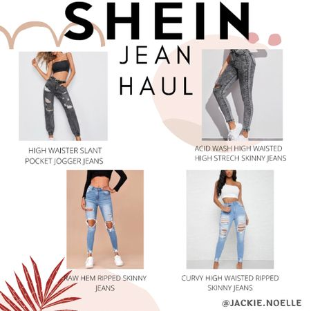New Jeans from Shein😍 Shop my daily looks by following me on the LIKEtoKNOW.it shopping app @liketoknow.it #liketkit #LTKstyletip #LTKunder50 #LTKunder100 http://liketk.it/3g6Rm