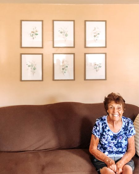 Went to Buffalo for 72 hours and managed to redo my Grandparents entire living room. Haven't seen my Gram smile like this in a while. Didn't want to completely change it so it didn't go with the rest of the house but I did want to brighten it up and make it a little (lot) less green. Swipe for before and after.   Wall Prints and Frames  http://liketk.it/2Uhbo #liketkit @liketoknow.it #LTKhome @liketoknow.it.home