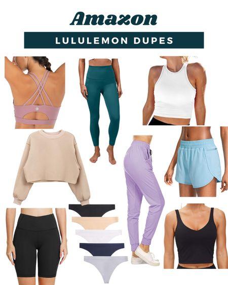 Amazon Lululemon Dupes   #LTKstyletip #LTKfit #LTKunder50