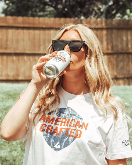 Excited to partner with Sam Adam's this summer for the special release of American Crafted beer with American Giant! They've been voted best #tshirt by #realsimplemagazine! #liketkit @liketoknow.it http://liketk.it/3jgQk