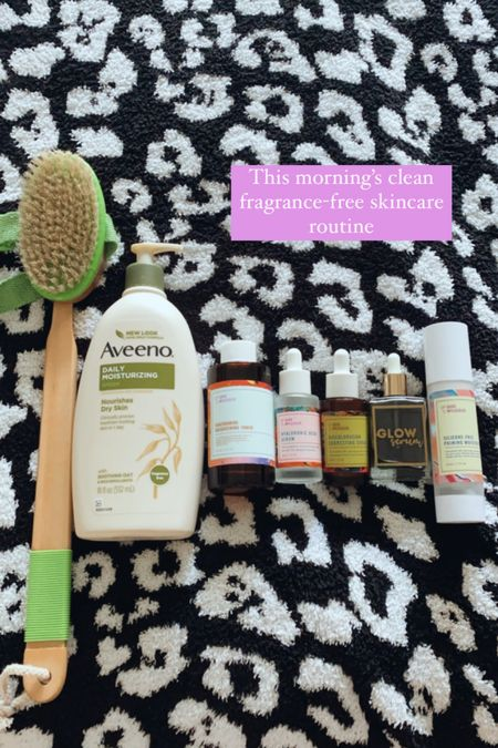 Clean beauty clean skincare fragrance free skincare routine anti-aging cellulite healthy skin  #LTKbeauty