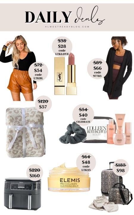 Daily deals early fall style loungewear elemis sale colleen rothschild sale http://liketk.it/3oayR @liketoknow.it #liketkit #LTKunder100 #LTKunder50 #LTKsalealert #LTKSale
