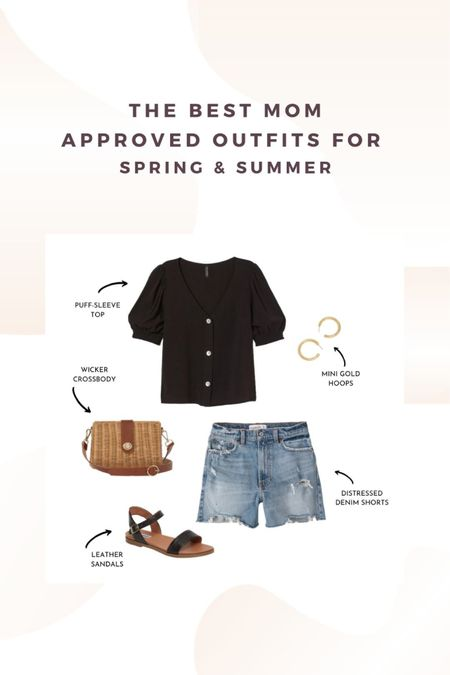 The best mom approved outfits for spring and summer. How to style Distressed Denim. http://liketk.it/2OxRm #liketkit @liketoknow.it