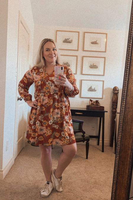 Obsessed with this spring floral dress from free assembly!!!    #LTKunder50 #LTKstyletip #LTKSeasonal