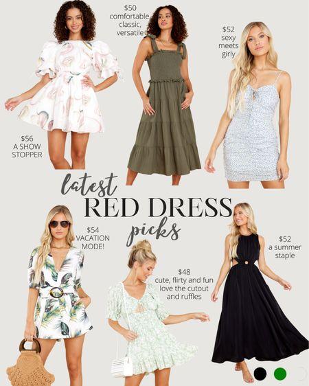 latest reddress order / love all the dress options they've been having lately - combination of mini dresses, midi dresses and maxi dresses that are all petite friendly #LTKunder100 #LTKstyletip #LTKwedding http://liketk.it/3jIkQ #liketkit @liketoknow.it