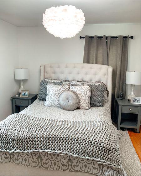 Bedroom furniture tufted headboard http://liketk.it/3dSQq #liketkit @liketoknow.it #LTKhome #LTKstyletip #LTKsalealert
