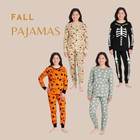 Halloween and fall pajamas for the family   #LTKHoliday #LTKfamily #LTKbaby