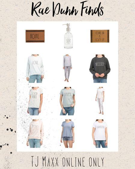 Rae Dunn finds, Rae Dunn clothes, Rae Dunn home finds, tj maxx http://liketk.it/39Lr3 @liketoknow.it #liketkit