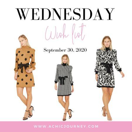 Wednesday Wish List: Sweater Dress Edition http://liketk.it/2ZGPr #LTKsalealert #LTKstyletip #LTKunder50 #liketkit  #target #sweaterdresses @liketoknow.it