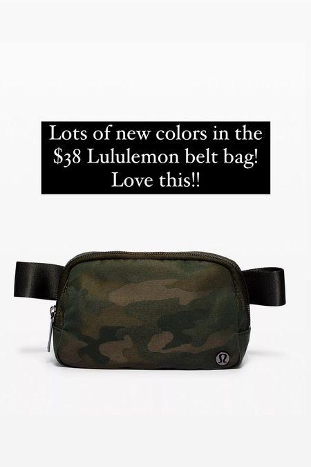 Lululemon belt bag   #LTKunder50 #LTKstyletip #LTKitbag