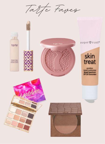Tarte skin treat, tarte shape tape, tarte bronzer and blush  #LTKSeasonal #LTKSpringSale #LTKsalealert