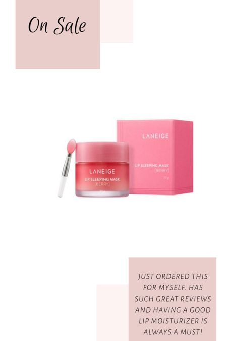 This cult fav lip mask and moisturizer is on sale! Grab it while you can! http://liketk.it/2S0bT #liketkit @liketoknow.it #LTKsalealert #LTKbeauty #LTKunder50 Screenshot this pic to get shoppable product details with the LIKEtoKNOW.it shopping app