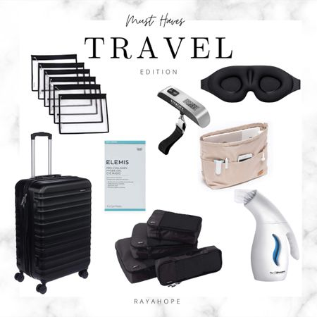 Holiday travel is coming quick… here are my must haves!   Travel  Wanderlust  Gift guide  Traveler  Luggage Packing