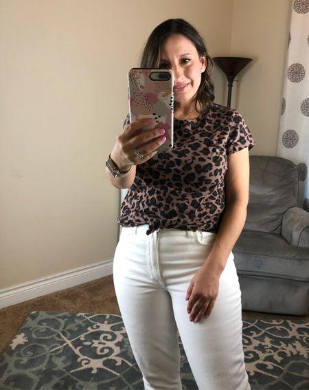 Abercrombie t-shirt runs tts  Abercrombie White Jeans runs tts  Great basics.   #LTKunder50 #LTKSale #LTKsalealert