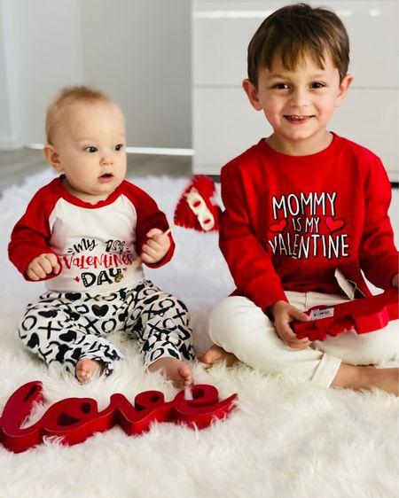 My heart belongs to them forever! ❤️ Valentine's Day fashion for baby and toddler boy! #LTKVDay @liketoknow.it.family http://liketk.it/36DUx #liketkit @liketoknow.it #LTKkids #LTKbaby