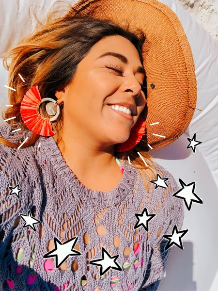 🏖 Dreaming of future beach days. And yes, I did wear these fabulous earrings to the beach! Forever21 seriously has some of the cutest accessories. I can't wait to go back. Are you team beach or team pool? You can instantly shop my looks by following me on the LIKEtoKNOW.it app http://liketk.it/2BDzC #liketkit @liketoknow.it