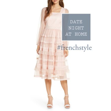 Get with the flow, with this light and floaty dress that is perfect for date night, (even if it is just take out).  Valentine's Day is coming after all. White dress  #frenchstyle  #LTKwedding #LTKstyletip #LTKeurope @liketoknow.it.europe http://liketk.it/35Lho #liketkit @liketoknow.it