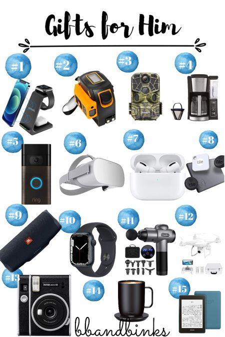 Amazing gifts to spoil a guy who loves technology   #LTKGiftGuide #LTKmens