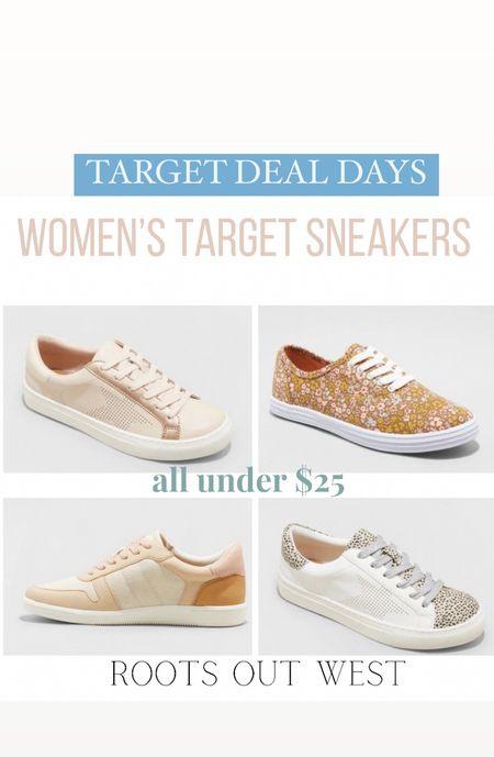 Target women sneakers on sale for 20% off. #targetdealdays  #LTKstyletip #LTKshoecrush #LTKsalealert