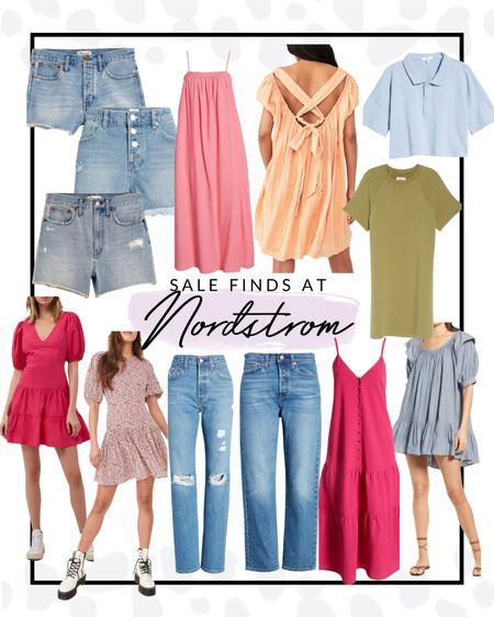 Nordstrom is having a HUGE sale right now so I rounded up some of my favorite dresses and denim pieces that are up to 70% off!!! RUN.   #LTKSeasonal #LTKsalealert #LTKcurves
