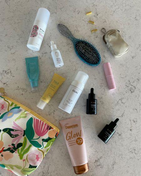 Poolside skincare products sunscreen hair products leave in conditioner   http://liketk.it/3hWPk #liketkit @liketoknow.it #LTKbeauty #LTKswim #LTKtravel