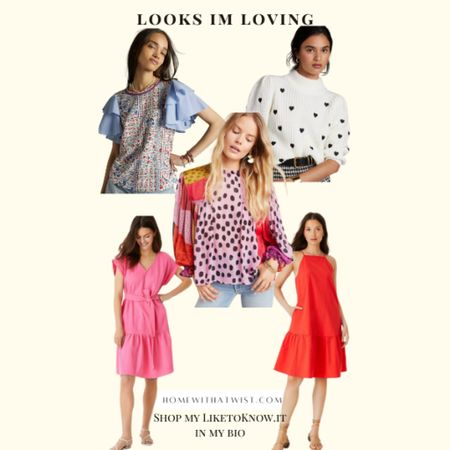 Loving these looks for summer fashion inspo lately. #anthropologie   #LTKworkwear #LTKunder100 #LTKtravel