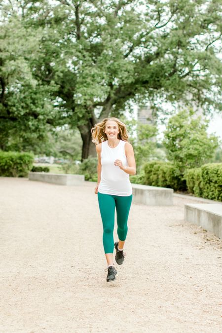 Running into the weekend! These are some of my favorite workout pieces for running. Tagging items from this photo and a few other favorites! Running gear | Running favorites | Athletic wear   #LTKunder100 #LTKfit