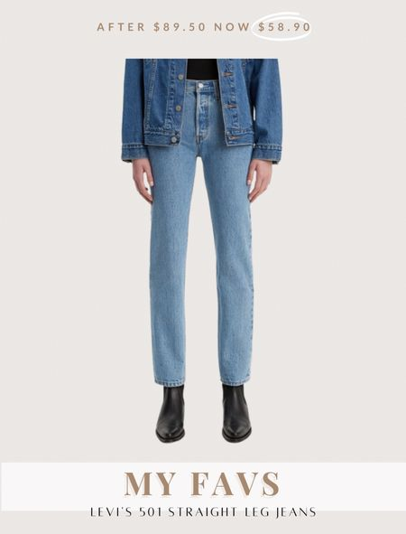 Levi's 501 straight jean included in the Nordstrom anniversary sale and still in stock  #LTKunder100 #LTKSeasonal #LTKsalealert