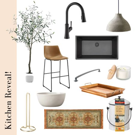 Kitchen reveal! These home decor and fixtures are affordable and the quality is amazing!  #StayHomeWithLTK #LTKhome #LTKsalealert #liketkit @liketoknow.it http://liketk.it/3aARZ  Amazon, wayfair, Serena and lily, target, west elm