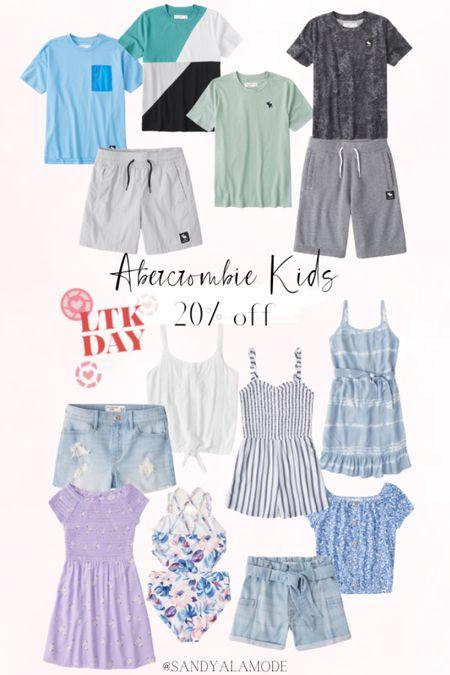 Abercrombie and Fitch kids picks for LTK Day! http://liketk.it/3hlFm #liketkit @liketoknow.it #LTKDay #LTKfamily #LTKkids