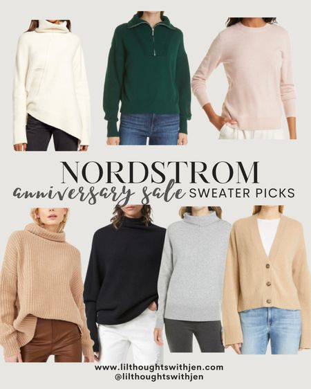 Nordstrom anniversary sale - sweater picks!! The best time to invest in pieces that are higher quality - think cashmere and wool. These will definitely last seasons to come http://liketk.it/3jL33 #liketkit @liketoknow.it #LTKsalealert #LTKstyletip #LTKworkwear