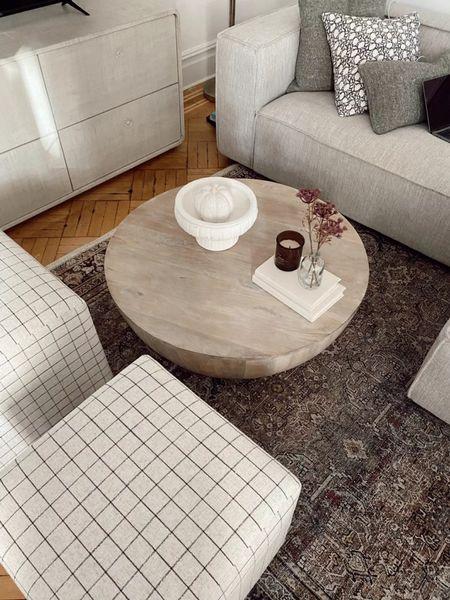 Living room, coffee table, Halloween decor, fall decor     #LTKSeasonal #LTKhome