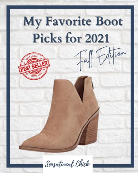 This ankle bootie is a must have  in your fall wardrobe! I'm an 8.5 and this light beige color is a classic! Click link for details!  #LTKunder50 #LTKSeasonal #LTKstyletip