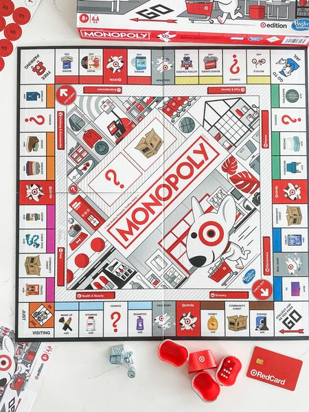 The Target Monopoly game may be the coolest board game of all time!     #LTKfamily #LTKhome #LTKunder50