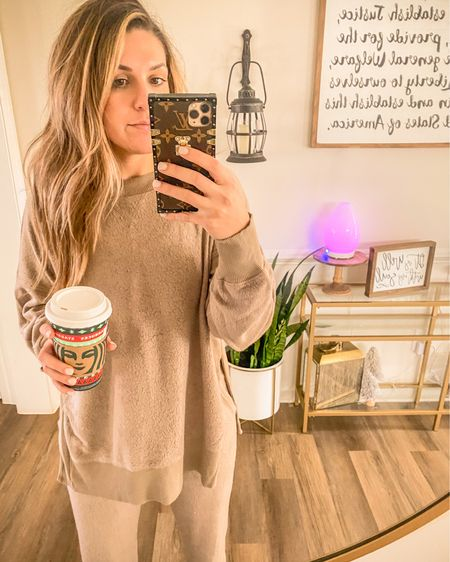Discovered new house clothes and my life will never be the same.... ♥️ Huge Aerie sale = new comfy things! Linked my haul for y'all! http://liketk.it/31Z3k #liketkit @liketoknow.it #StayHomeWithLTK #LTKtravel #LTKunder50