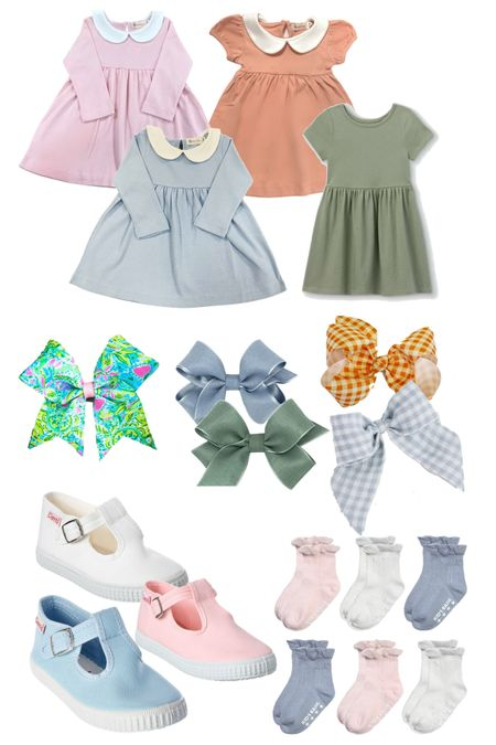 Easy fall outfits for little girls - most finds are on sale or bargain deals!   #LTKSeasonal #LTKunder50 #LTKkids