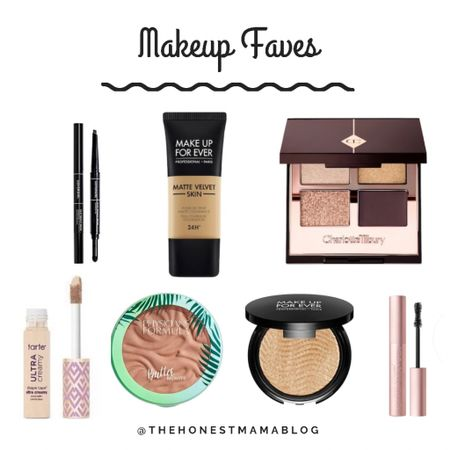 These are my go-to makeup products for a simple & shimmery bronzed look ☀️ #makeup #makeuptutorial #makeupmusthaves http://liketk.it/3g8Xp #liketkit @liketoknow.it