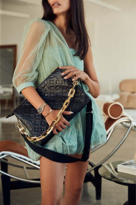 Linking to my favorite designer it bags this season starting with this Louis Vuitton Coussin bag with oversized hold chain handle!   #LTKitbag #LTKstyletip