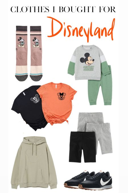Clothes that I bought for Disneyland!