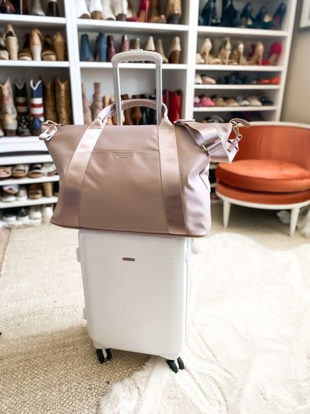 Ted Baker London Naahla Large Tote comes in the prettiest pale pink. Gorgeous blush color! Perfect to pop on top of your carry on. $65 Off for the #NSale!   #LTKsalealert #LTKunder100 #LTKtravel