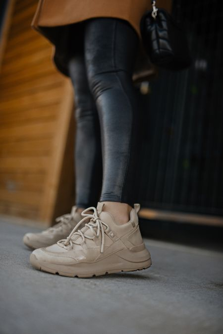 Obsessed with these ultra chic sneakers via DSW! Love how comfy they are! They run tts!- beige sneakers, sneakers, athleisure look, fall fashion   #LTKunder100 #LTKstyletip #LTKshoecrush