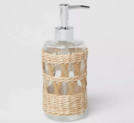 Soap dispenser, Threshold, bathroom accessories, coastal home decor    #LTKhome #LTKunder100 #LTKsalealert