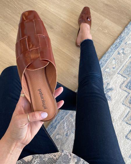 Nordstrom shoes! I love these fisherman style mules! http://liketk.it/3gcrw @liketoknow.it #liketkit #LTKunder100 #LTKsalealert #LTKshoecrush