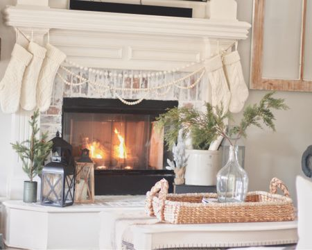 Oh just over here still loving our cozy Christmas fireplace.   #LTKholidaystyle #LTKholidayathome #LTKunder100 @liketoknow.it http://liketk.it/2I2Lw #liketkit