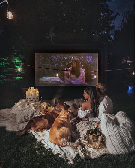 Amazon outdoor movie projector on sale tomorrow for Amazon Prime day!  http://liketk.it/3i1XV #liketkit @liketoknow.it #primeday   #LTKsalealert #LTKfamily #LTKhome