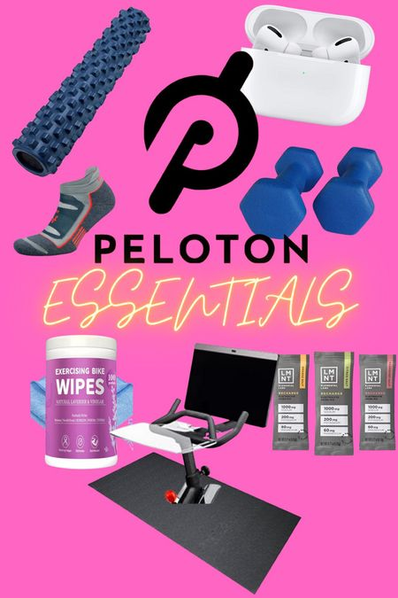 Here are a few of my favorite things that get me through a peloton ride!   #LTKfit